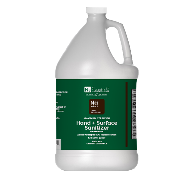 Natural Hand + Surface Sanitizer Refill 1 Gallon