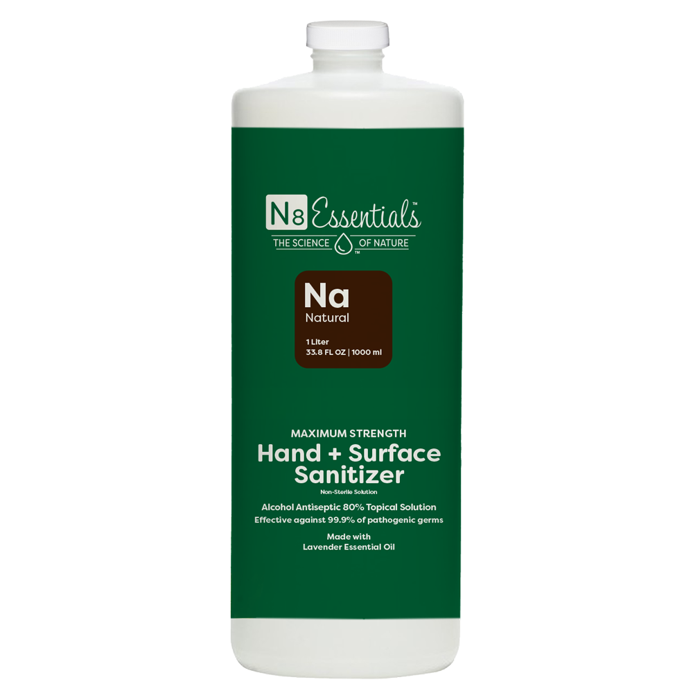 Natural Hand + Surface Sanitizer Refill 1 Liter