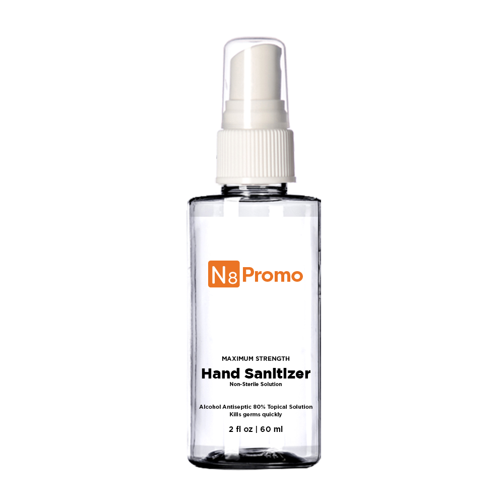 Hand Sanitizer Spray 2 oz sample