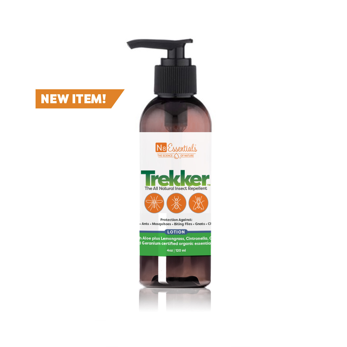 Trekker™ All Natural Insect Repellent Lotion