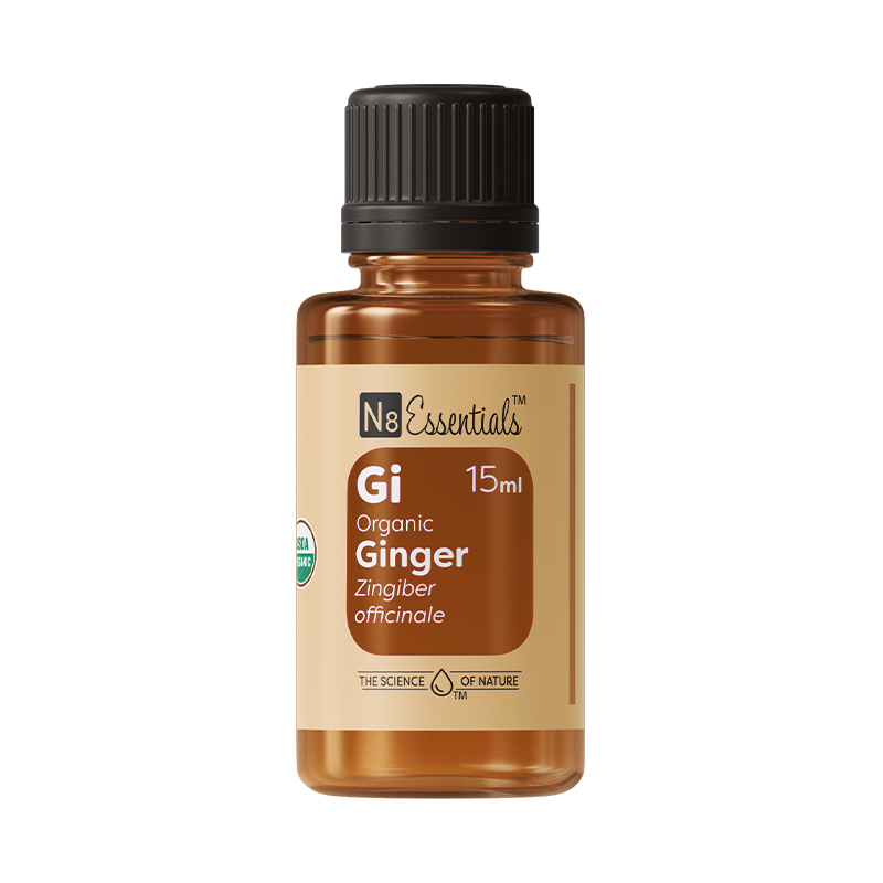 Certified Organic Ginger