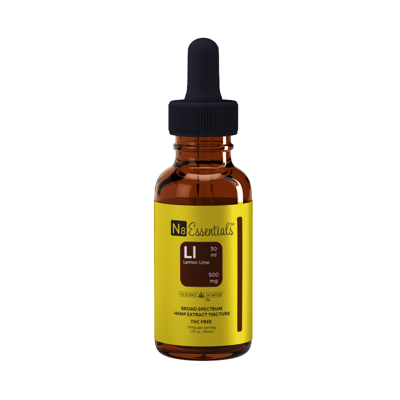 Lemon Lime 500mg Tincture