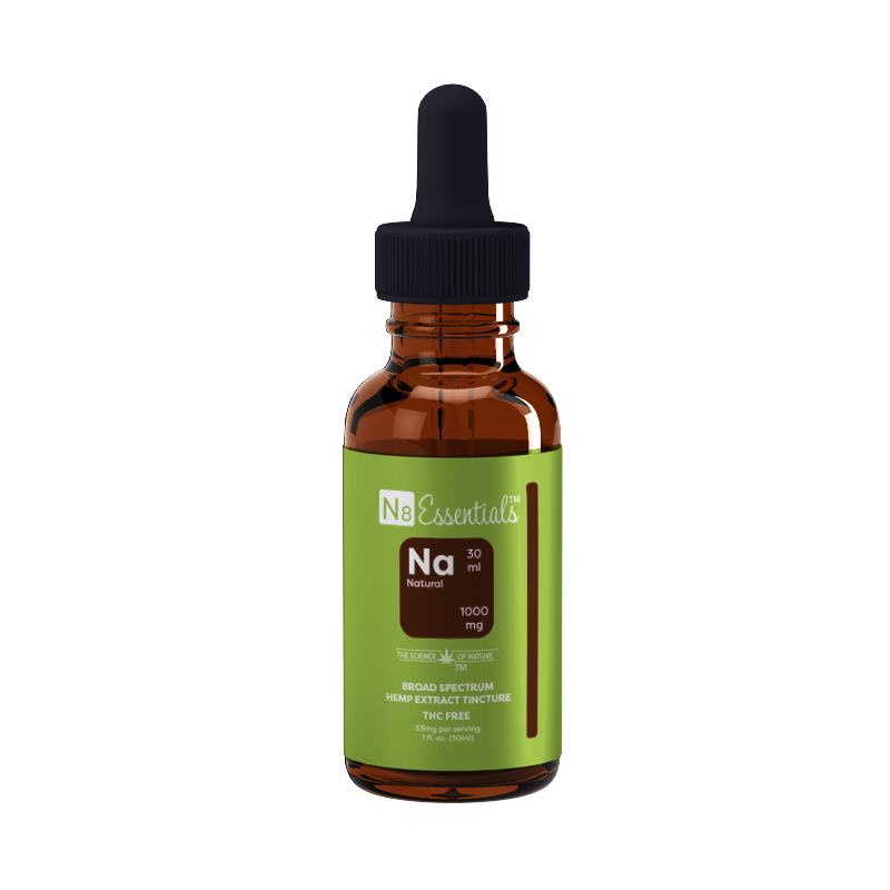 Natural CBD 1000 mg Tincture