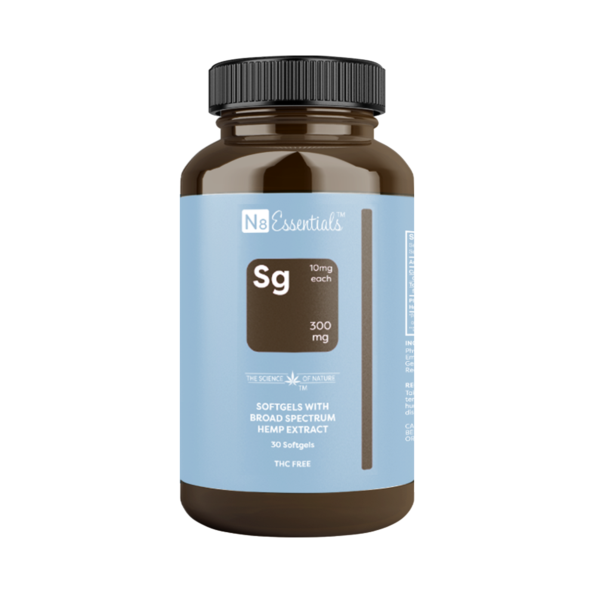 N8 Broad Spectrum Softgels 10mg
