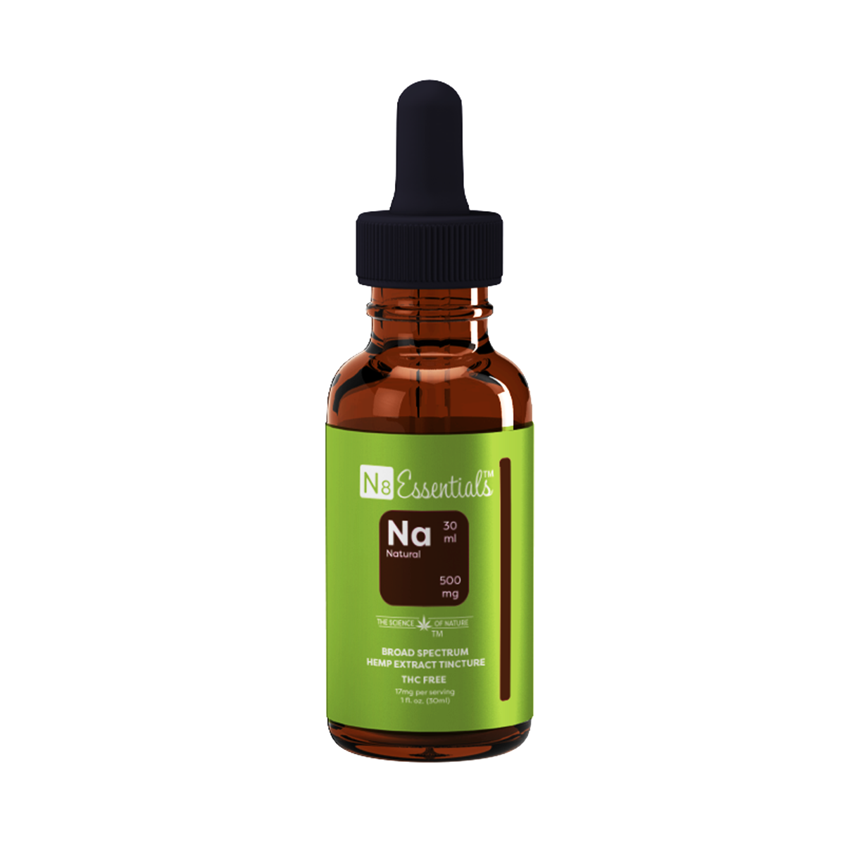 Natural CBD 500 mg Tincture